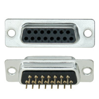 Dip Solder PCB Mount Connectors