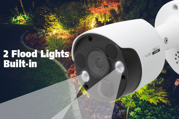 Built-in Flood lights