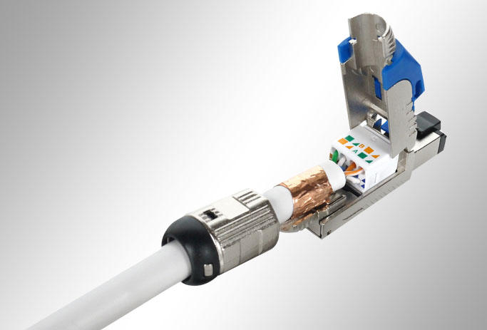 Cat6a Field Terminable Plugs