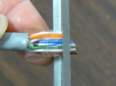 how to put ends on data cable