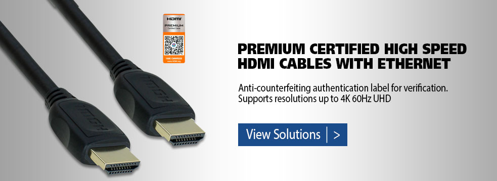 Premium Certified HDMI Cables
