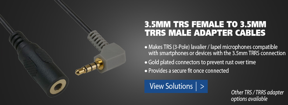 TRS / TRRS adapters