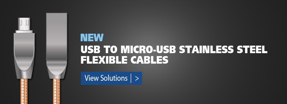 USB to Micro-USB Stainless