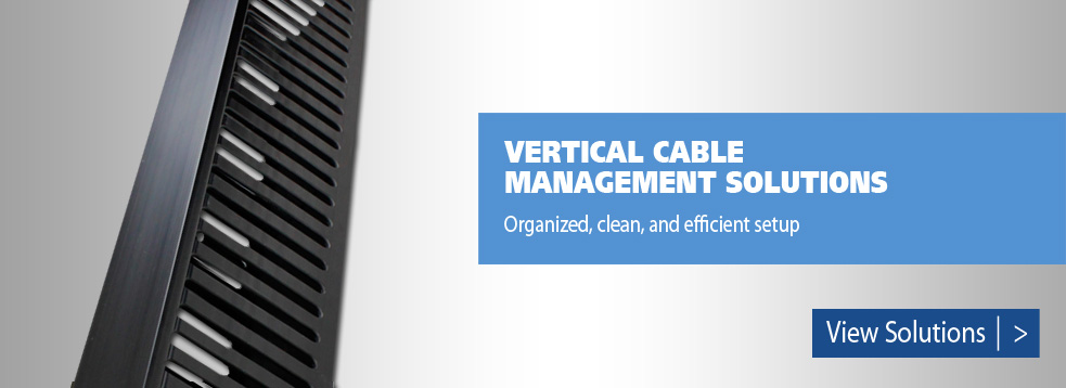 Vertical cable management