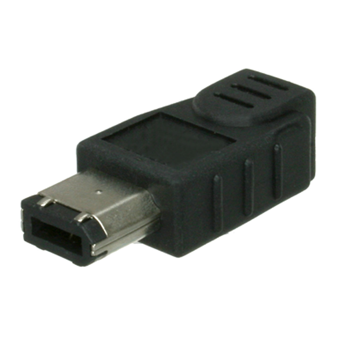 IEEE-1394a 6p Plug to 4p Socket Firewire Adapter / Gender Changer