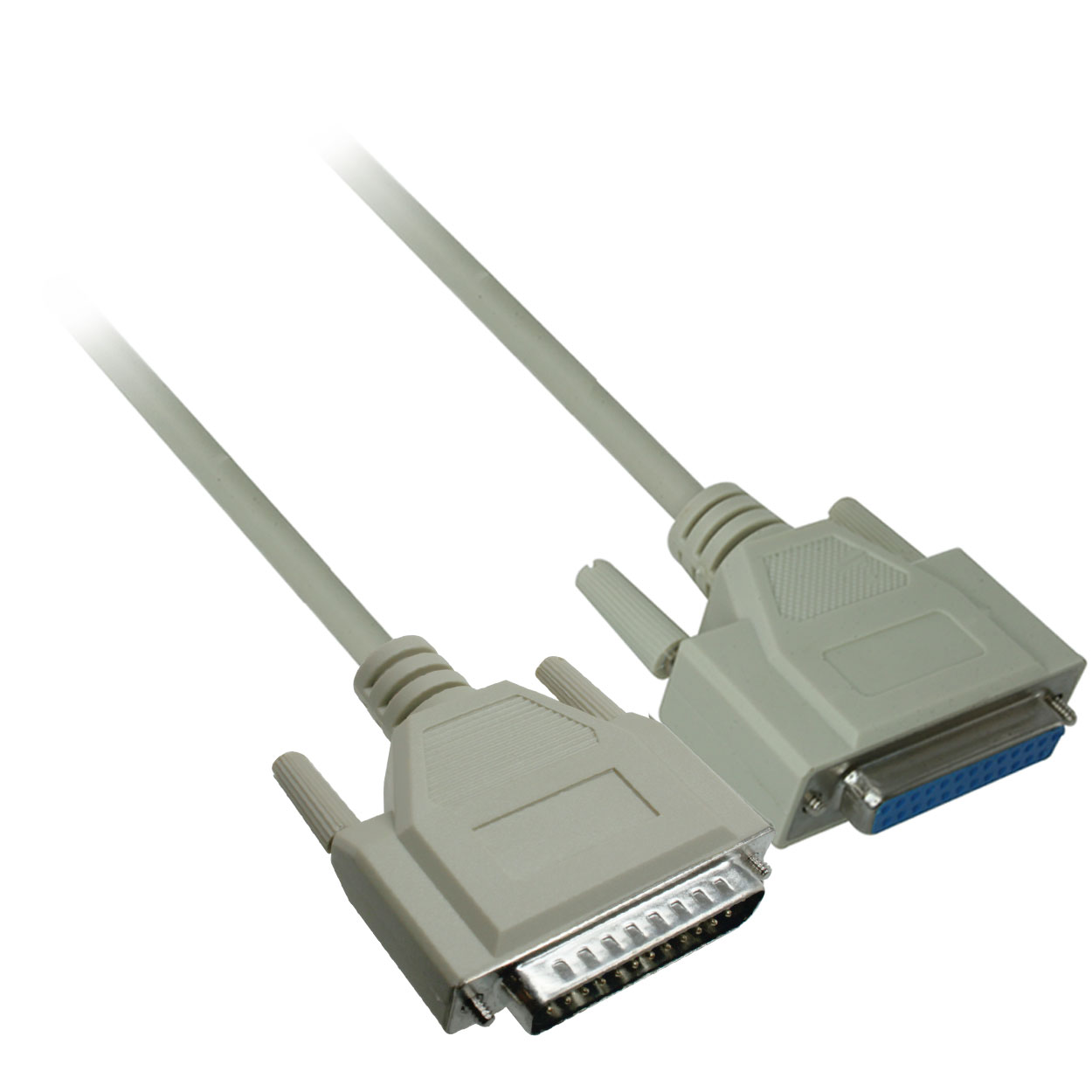 DB25 Male to DB25 Male 6/' RS-232 Cable