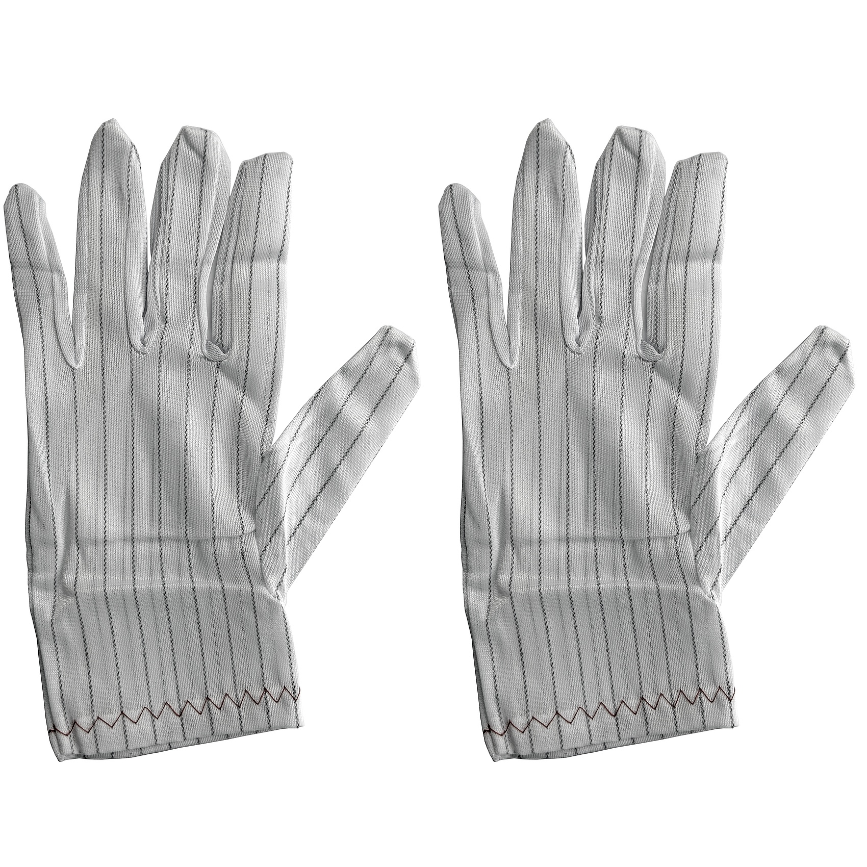 Static dissipative clean room glove 10 pair