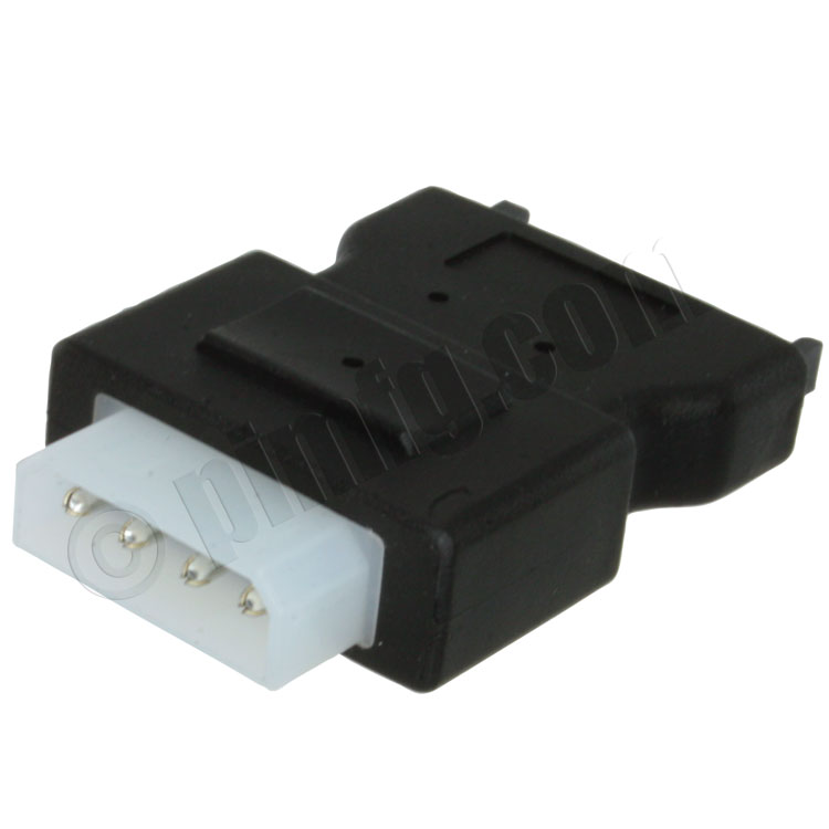 SATA Power Male to 4-Pin Molex Power Adapter