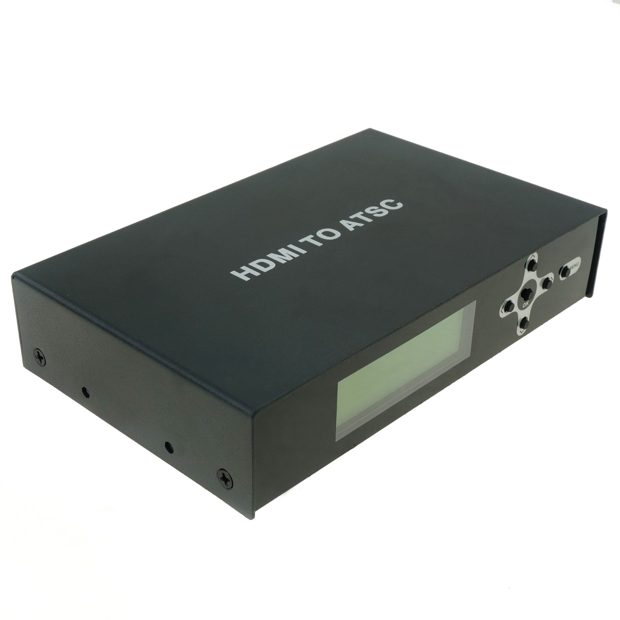 HDMI to ATSC Digital High Definition Signal Combiner / Video Injector (Maps HDMI to ATSC Channel)
