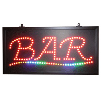 Bar Sign 5 mm/LED light 59.5*29.5 cm