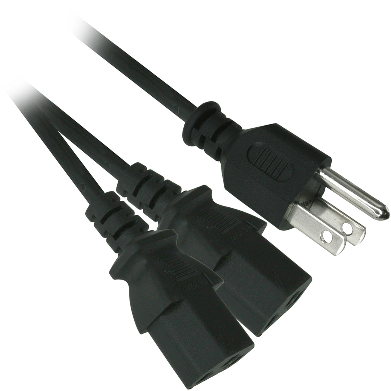 6ft 18awg Ac Power Cord Nema 5 15p To Iec 60320 C13 Ul Csa Listed Wiring Plug Connector C15 Computer Socket