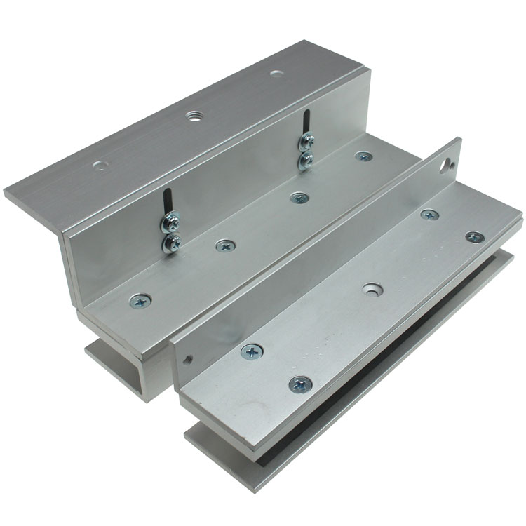 U And L Bracket For Glass Doors For 300 Series Electromagnetic