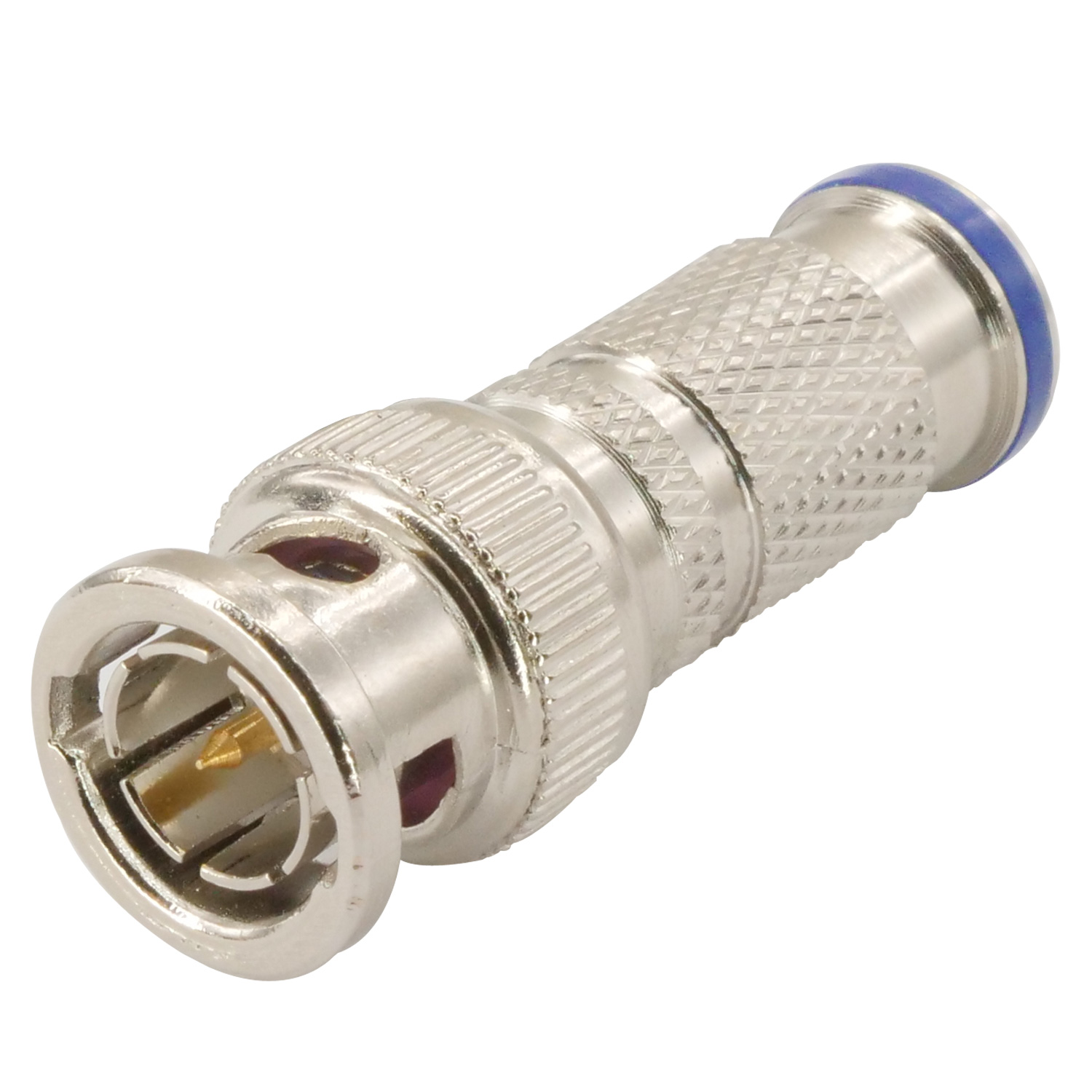 Weatherproof BNC Male Compression Type Connector for RG59/6 Coaxial ...