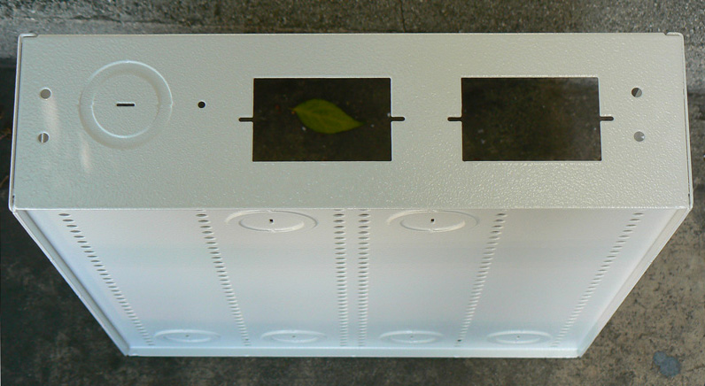 18inch Home Structured Wiring Box Metal With Fan Holes