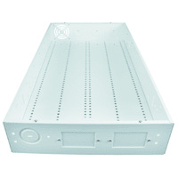 Pleasant 28Inch Home Structured Wiring Box Metal With Fan Holes Pi Wiring Cloud Hisonuggs Outletorg