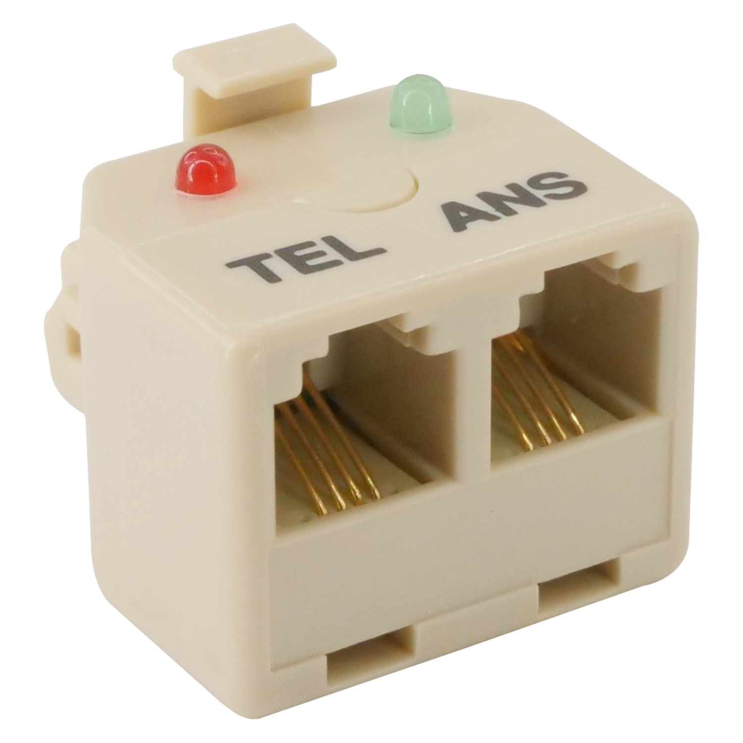 Telephone (Answer Machine) Auto Switch, One Jack At A Time