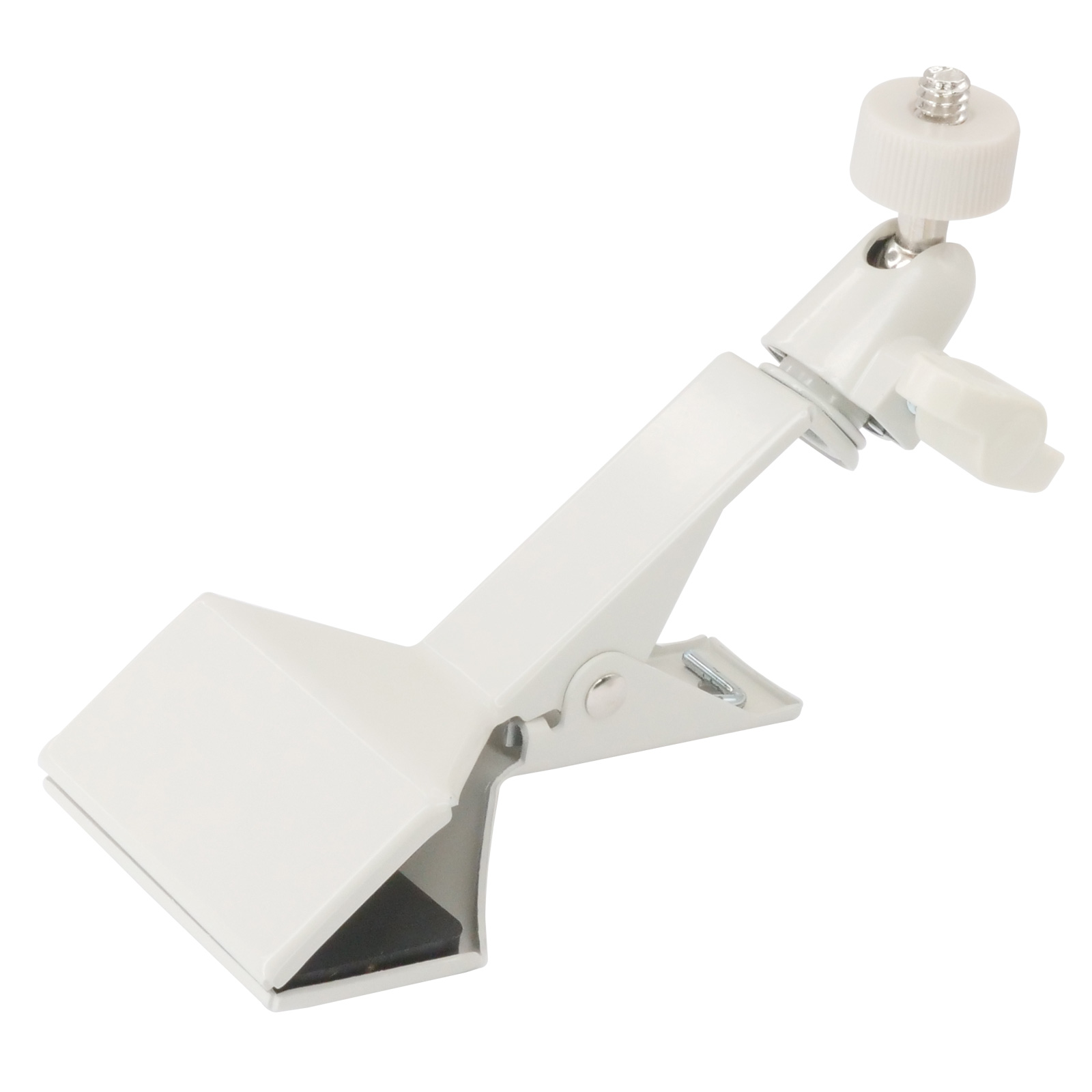 Zinc Camera Mounting Bracket, Clamp Type, Beige