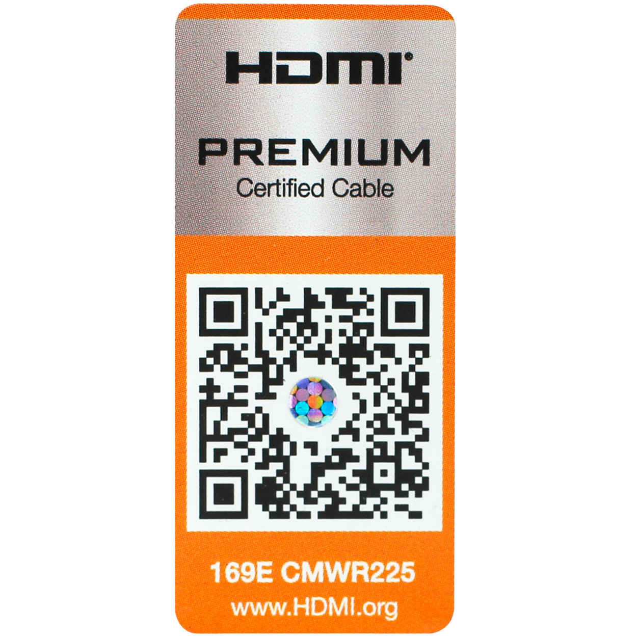 3ft Certified Premium High Speed HDMI Cable with Ethernet - 4K ...
