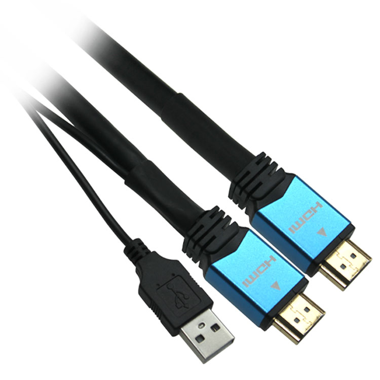 100ft 26AWG High Speed HDMI Cable with Built-in Equalizer - 4K 60Hz