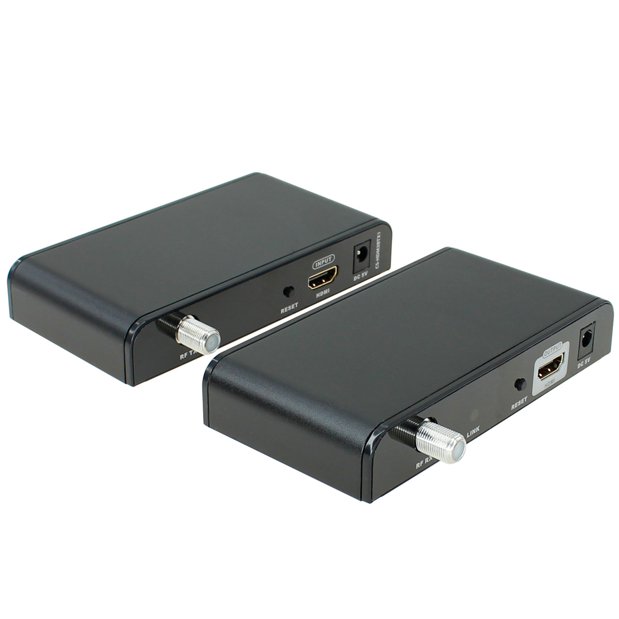 Hdmi To Coaxial Cable Splitter : Hdmi extender over coaxial cable up to ft one