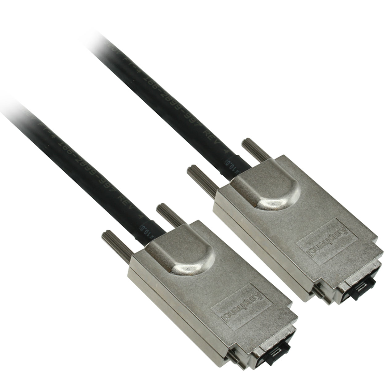 2 meter External SAS 34 pin (SFF-8470) Male to SAS 34 pin (SFF-8470) Male Cable