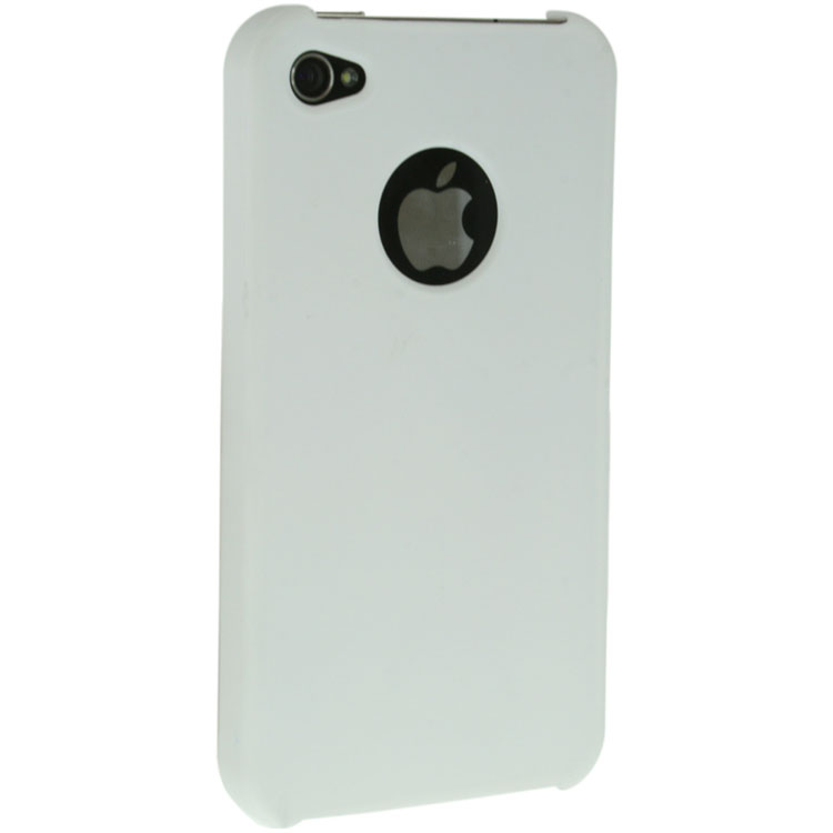 iPhone 4 / 4S Glossy Hard Shell Case - White (AT&T and Verizon)