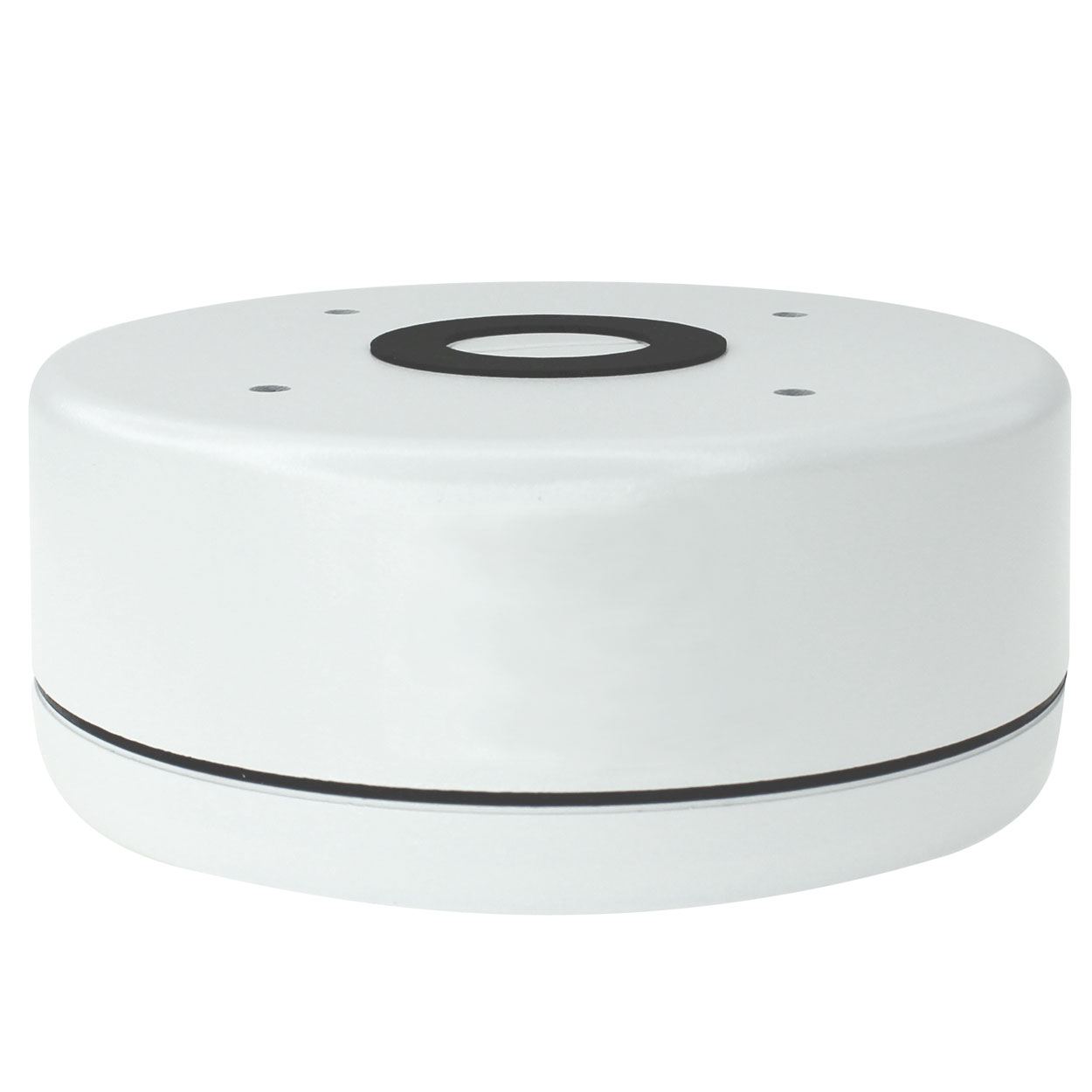 Junction Box for Bullet and Dome Cameras, 5.8 x 2.3 inches - White