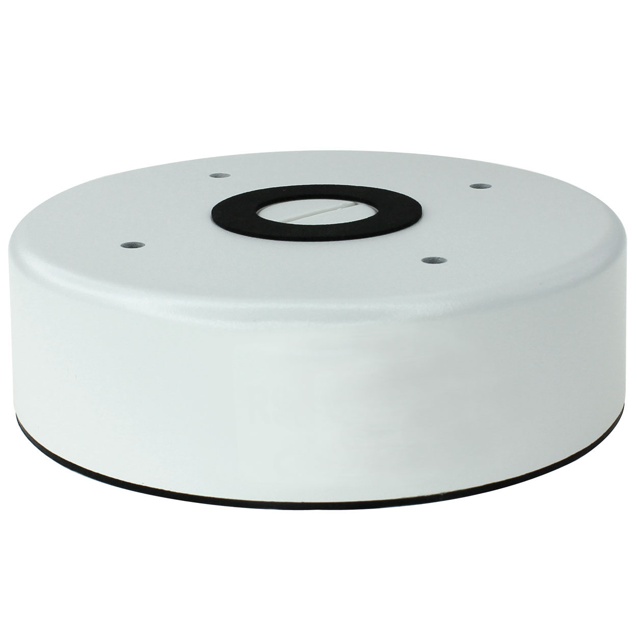 Junction Box for Vandal Proof Dome Cameras, 5.8 x 1.8 inches - White