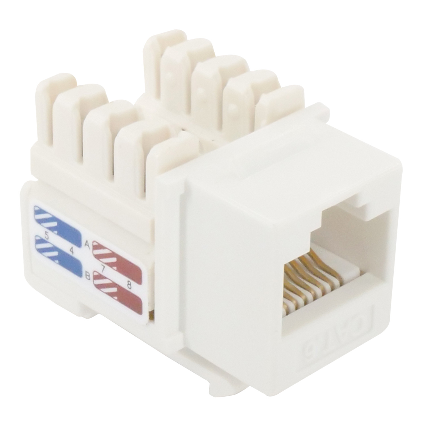 Jack Wiring Diagram Cable How To Connect Cat6 Plug Cat6 Keystone Jack