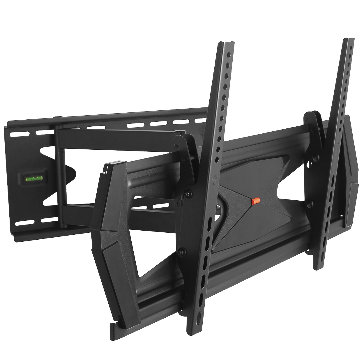 Full Motion Tilt and Swivel TV Wall Mount Bracket for 37-70 inch Screens with Anti-Theft Function (Max 88lbs)