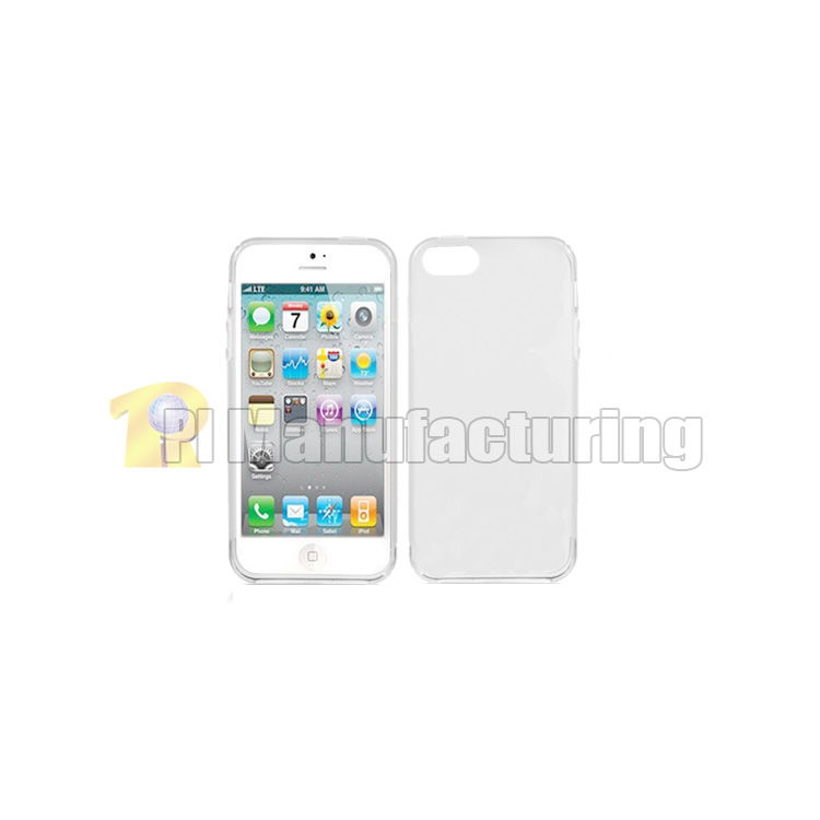 first rate 37515 54892 iPhone 5s Case with Frosted Plastic Back Cover - Clear