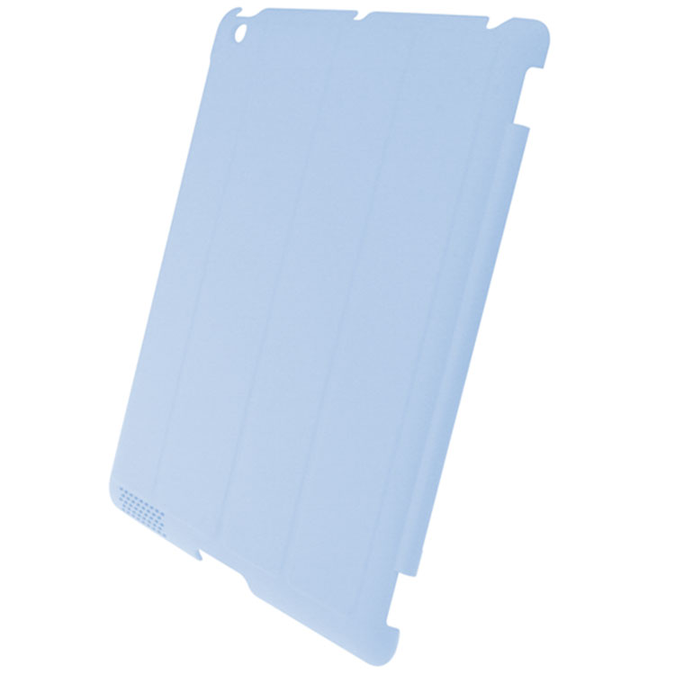 iPad 2 Hard Shell Back Cover - Blue (Compatible with iPad Smart Covers)