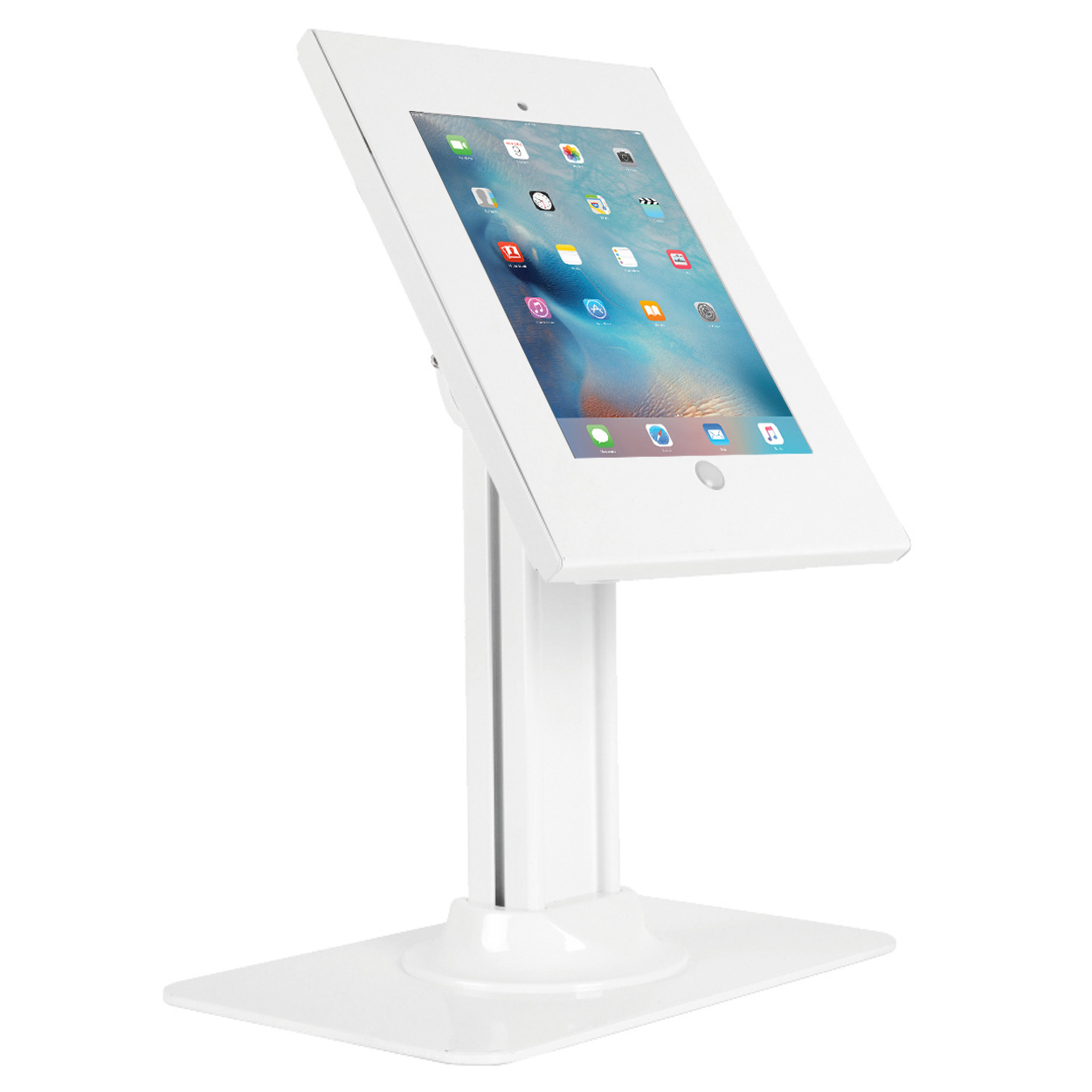 Anti-Theft iPad Kiosk Stand for 9.7 inch Apple Tablets (iPad / Air / Air 2 / 9.7
