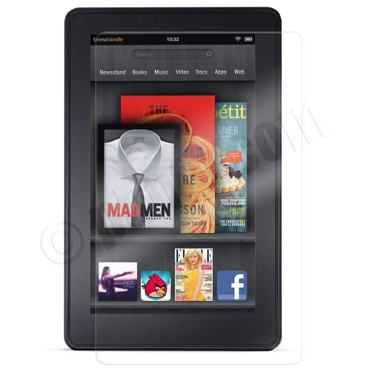 Kindle Fire 7 inch Crystal Clear Screen Protector