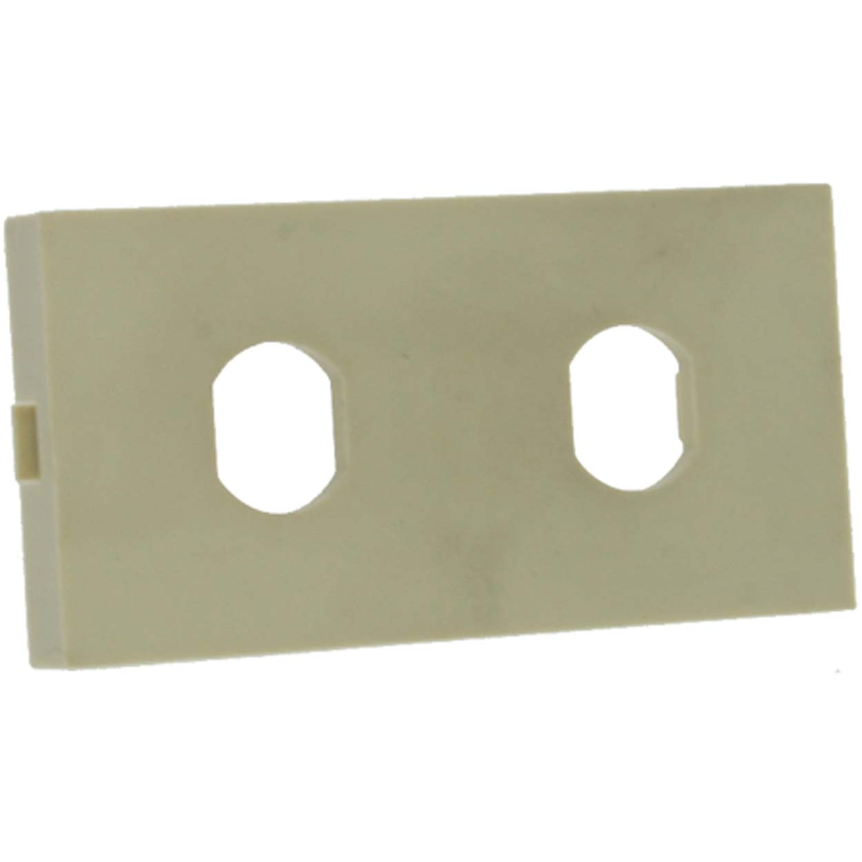 Dual ST Snap-in Module, for MD Series, Ivory