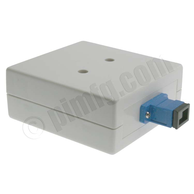 Universal Surface Mount Box with 1 SC Connector