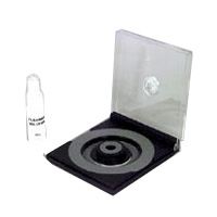 CD Cleaner with Rotating Pad