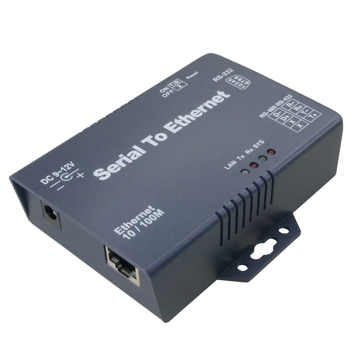 rs232 rs422 rs485 to ethernet rj45 tcp ip internet converter