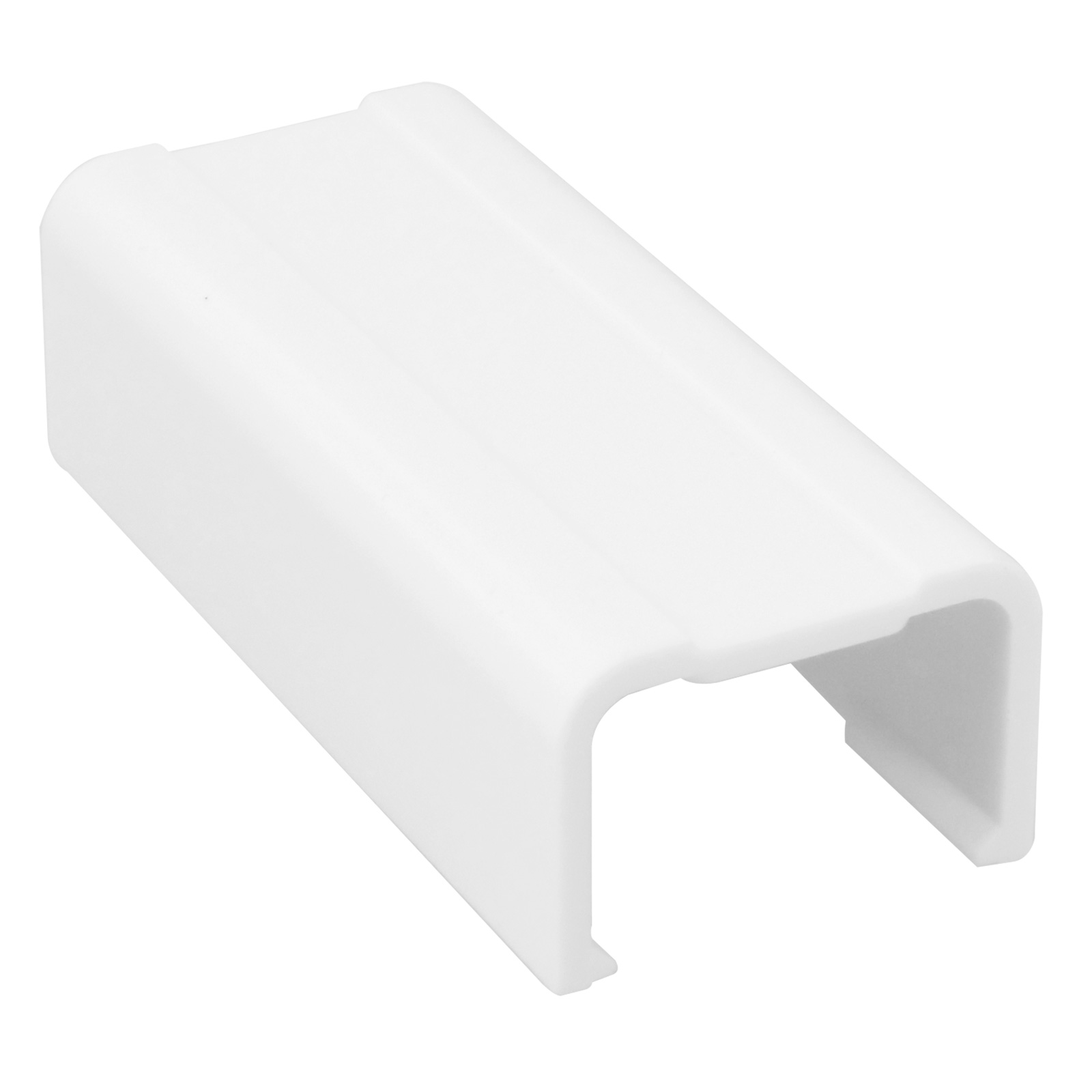 3/4 inch Joint Cover for Raceway - White, 5pcs/pack