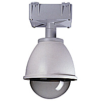 Outdoor Aluminum Dome or PTZ Housing Camera Ceiling Mount Bracket with Heater and Fan