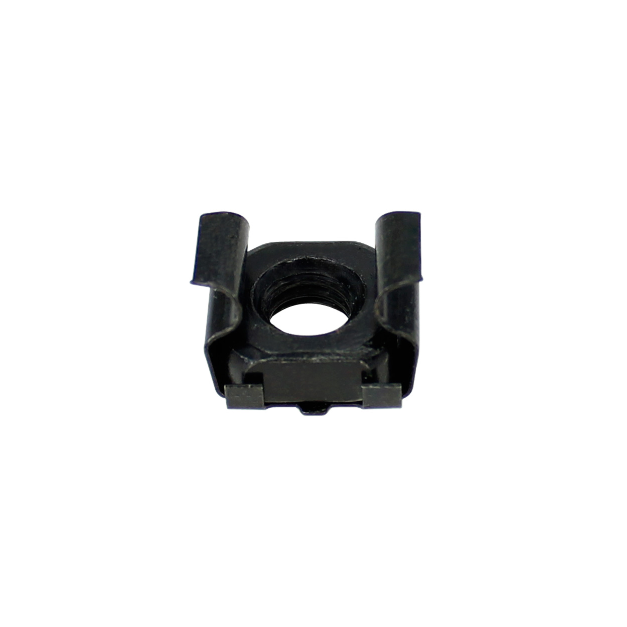 M6 Cage Nuts - 50pcs/bag, Black