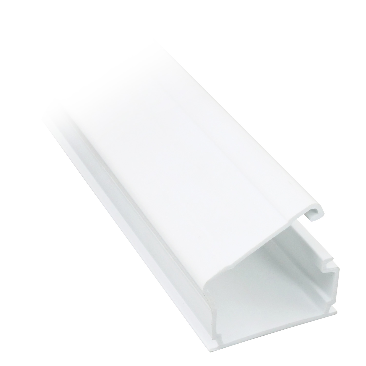 1-1/4 inch Surface Mount Raceway - 6ft, White
