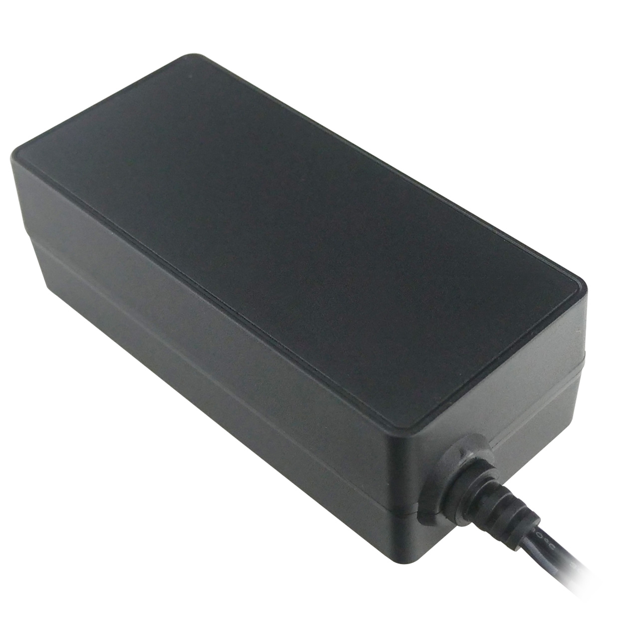 12V DC 4000mA Output Power Switching Adapter, (100-240V AC Input, 2 1mm ID  / 5 5mm OD) - Regulated