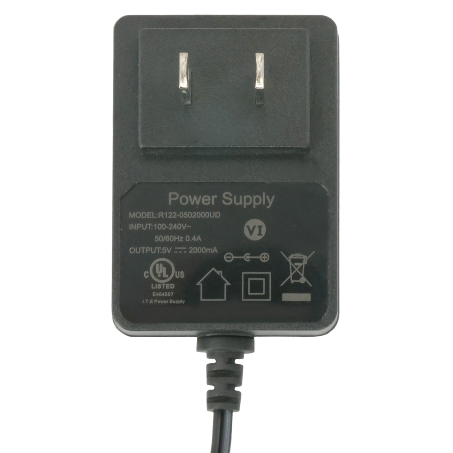 5v Dc Power Adapter 2a Output 120v Ac Input 2 1mm Id