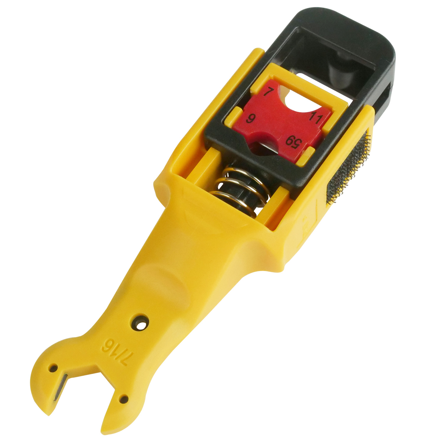 RG59 / RG6 / RG7 2 Blade Coaxial Stripper with Wrench