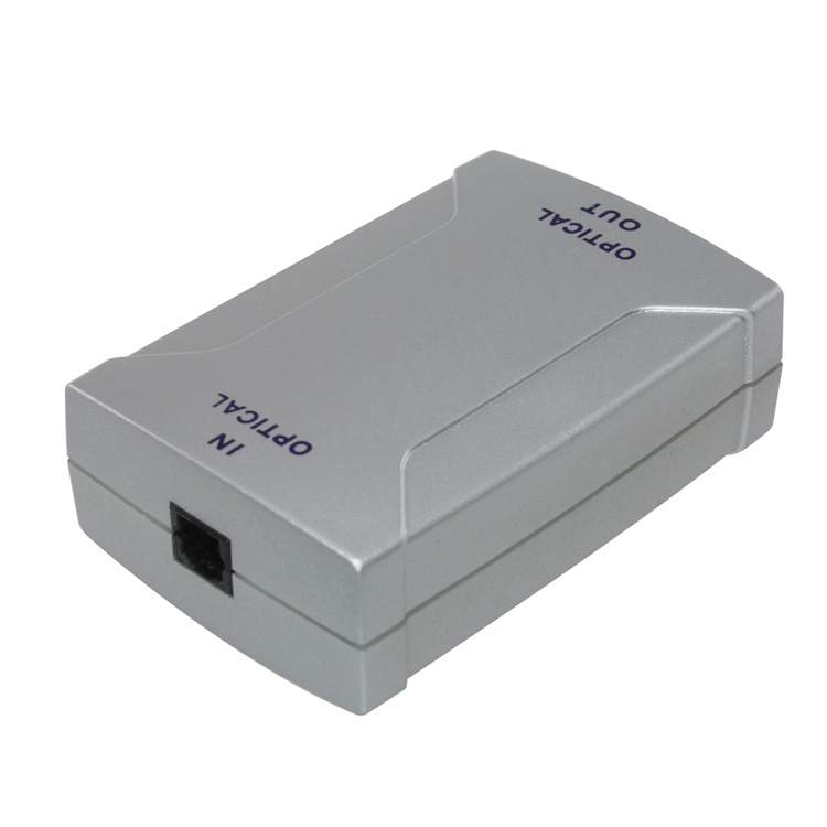 Digital Optical Audio Toslink to Toslink Repeater