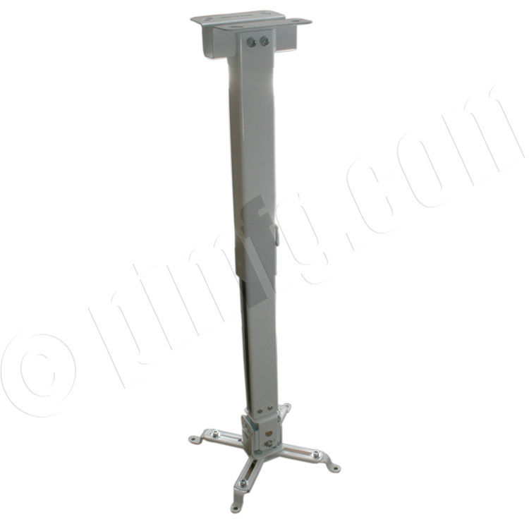 Projector Bracket, Ceiling Mount, 44lb max, Adjustable Height: 17.00-25.60 inch