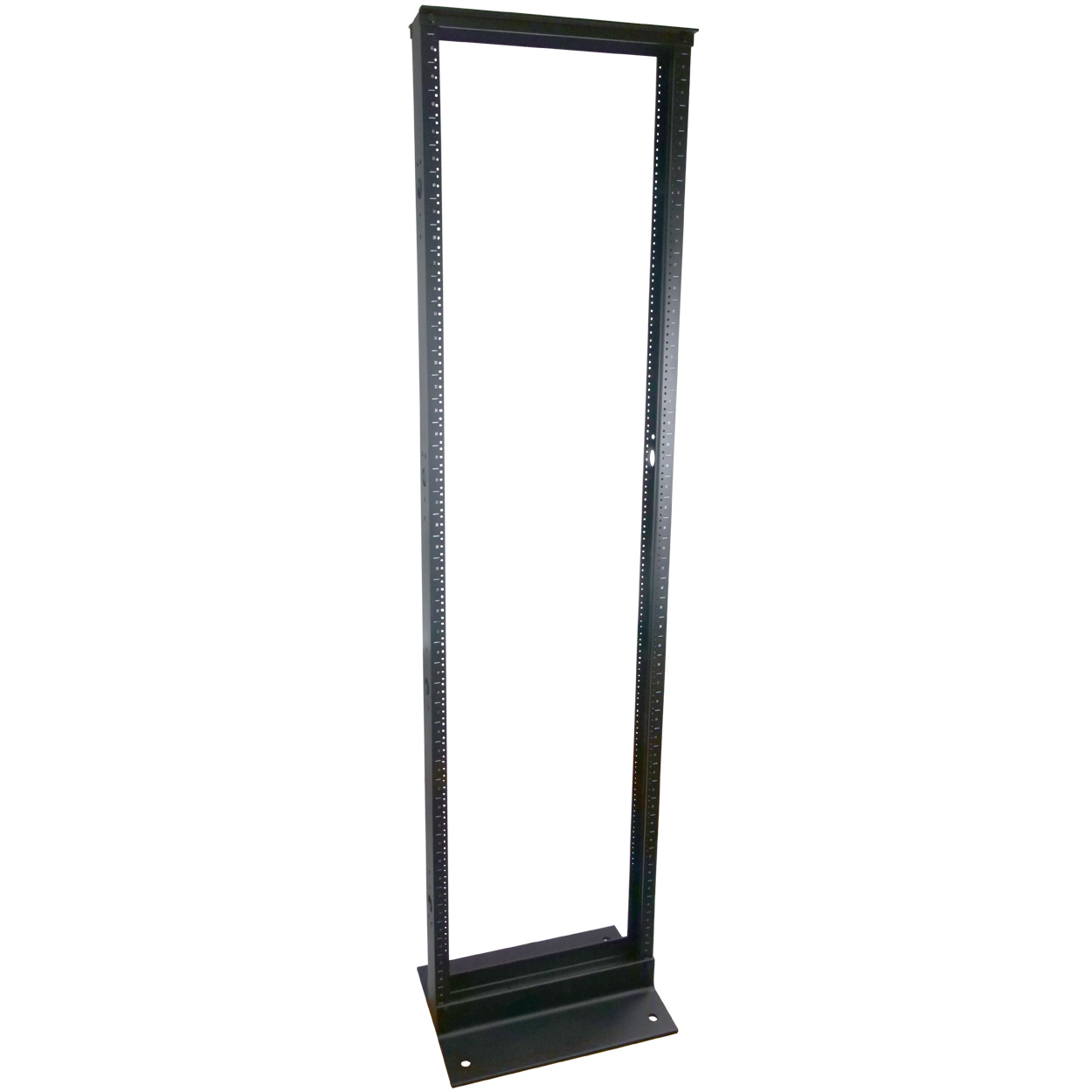 45U Aluminum 2-Post Open Frame Rack