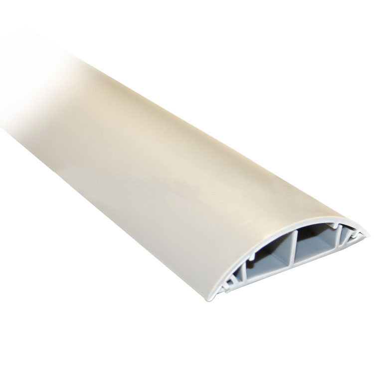 Floor Wiring Duct, Grey - PI Manufacturing