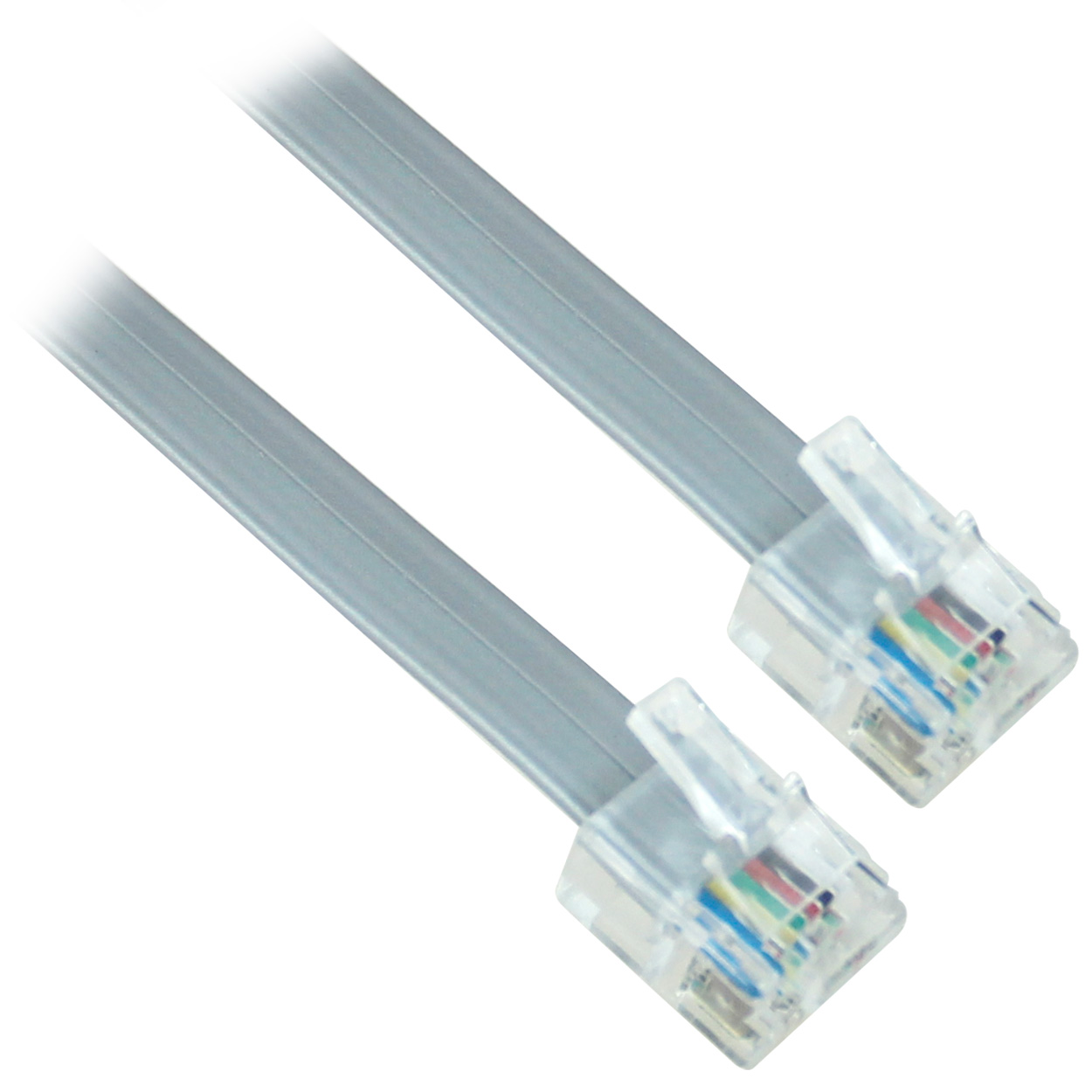 telephone rj12 wiring 25ft 28awg rj12 6p6c phone cable, reverse, bare copper ... usb to rj12 wiring diagram